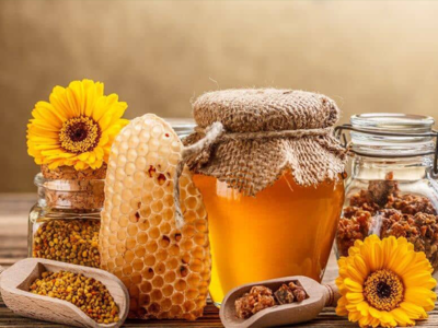 what are the benefits of eating honey for the skin