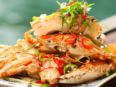 what are the benefits of eating crab